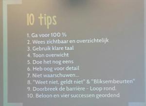 10 tips - Annebel