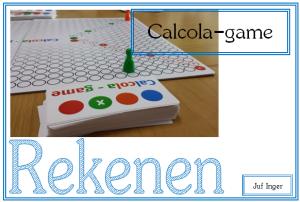 Calcola-game - juf Inger