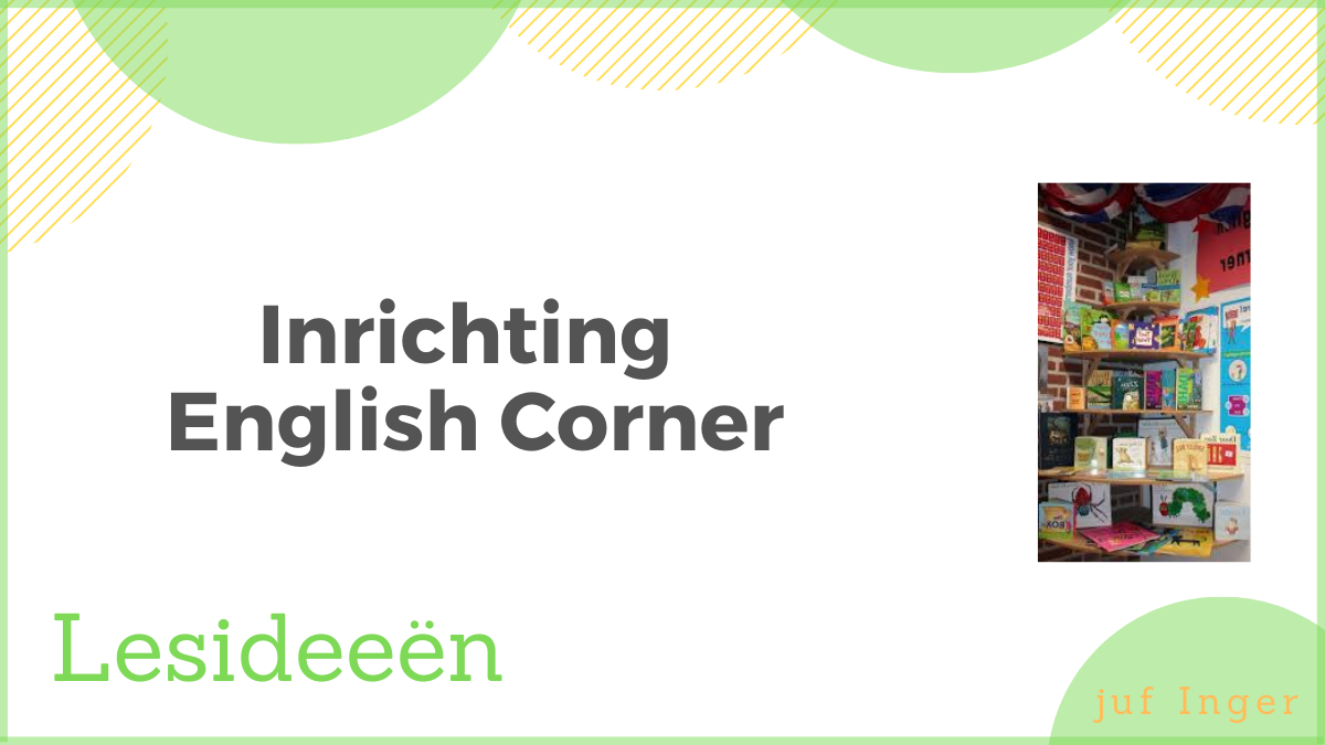 Inrichting English Corner