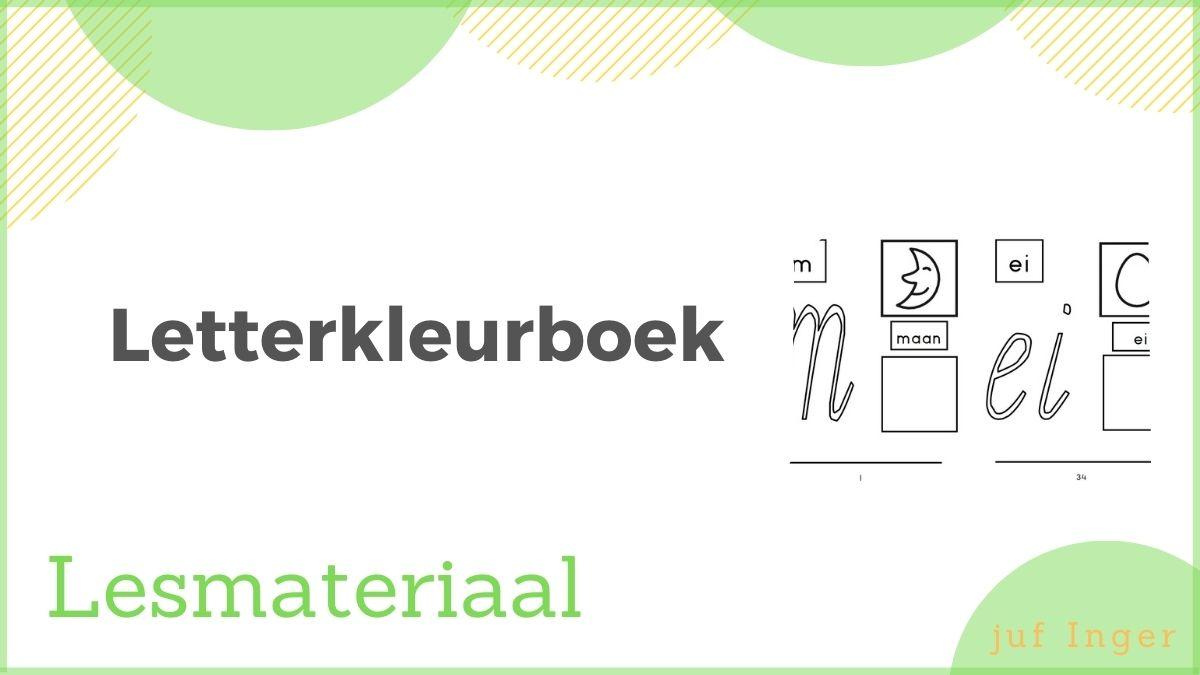 letterkleurboek