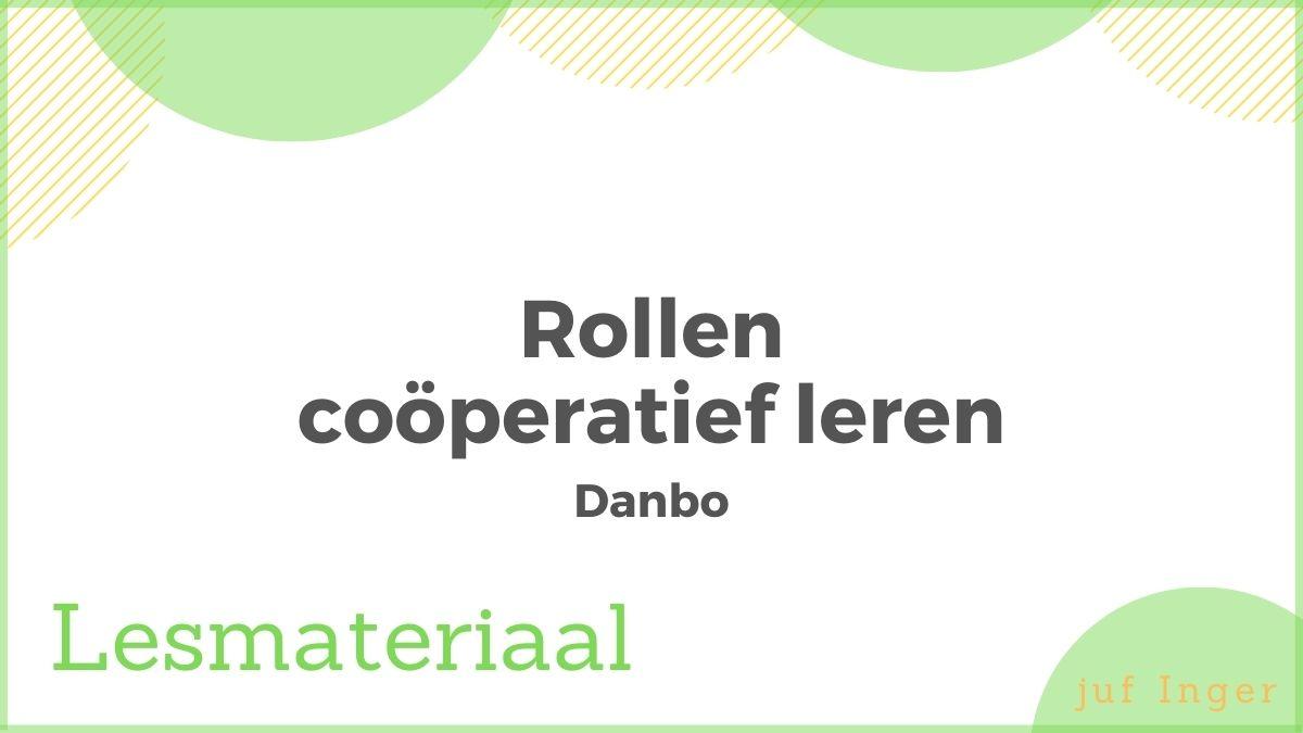 rollen coöperatief leren danbo