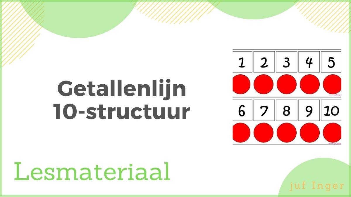getallenlijn 10-structuur