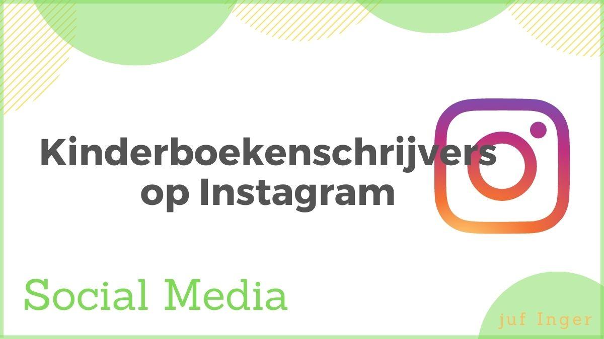 kinderboekenschrijvers op instagram