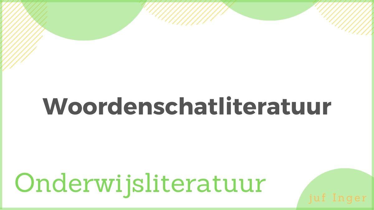 woordenschatliteratuur