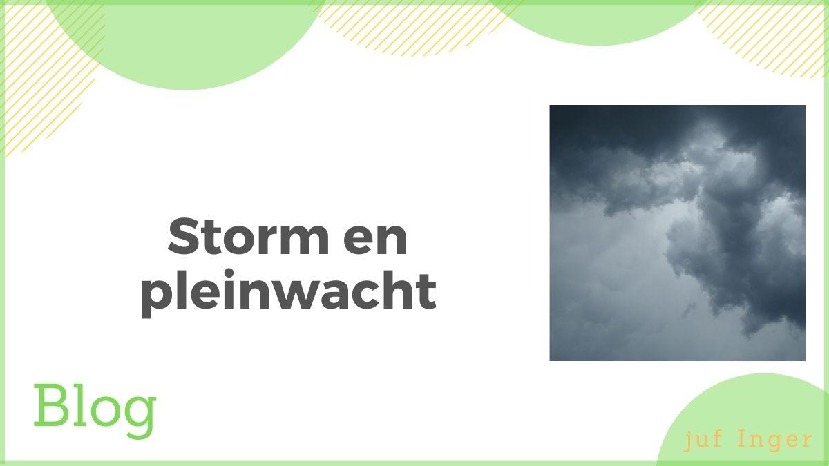 storm en pleinwacht