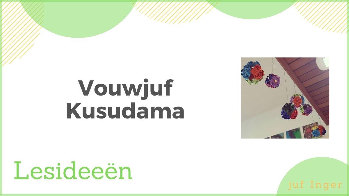 Vouwjuf - Kusudama