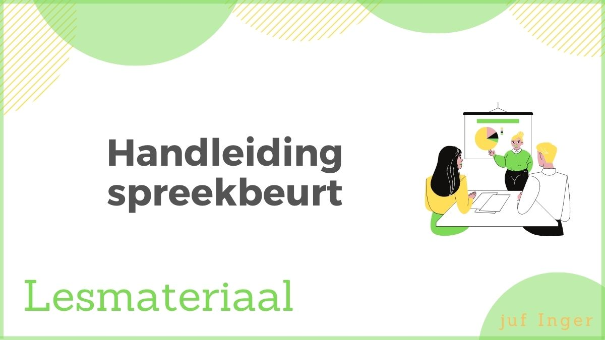 handleiding spreekbeurt