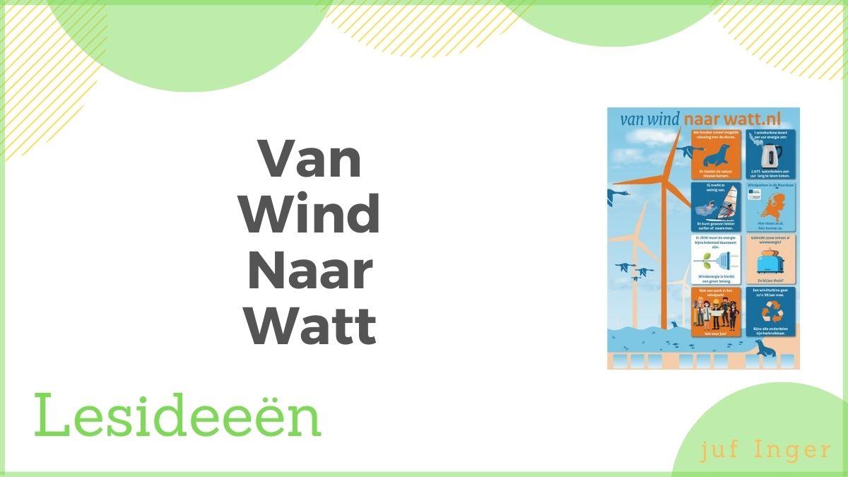 van wind naar watt