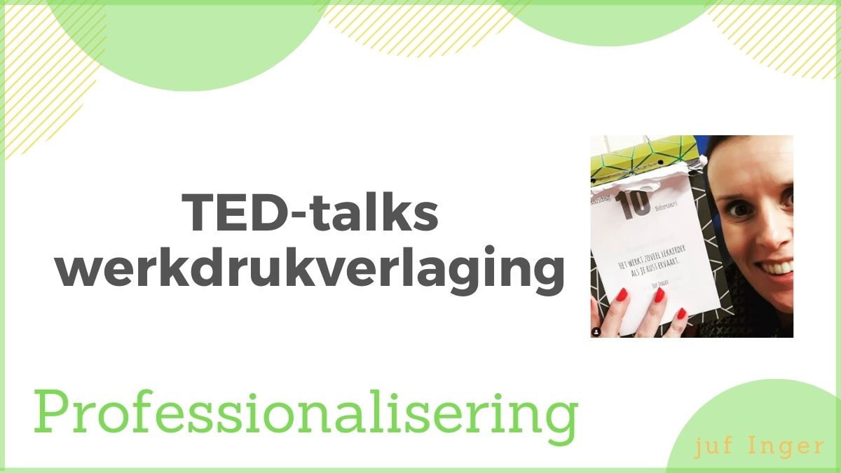 TED-talks werkdrukverlaging