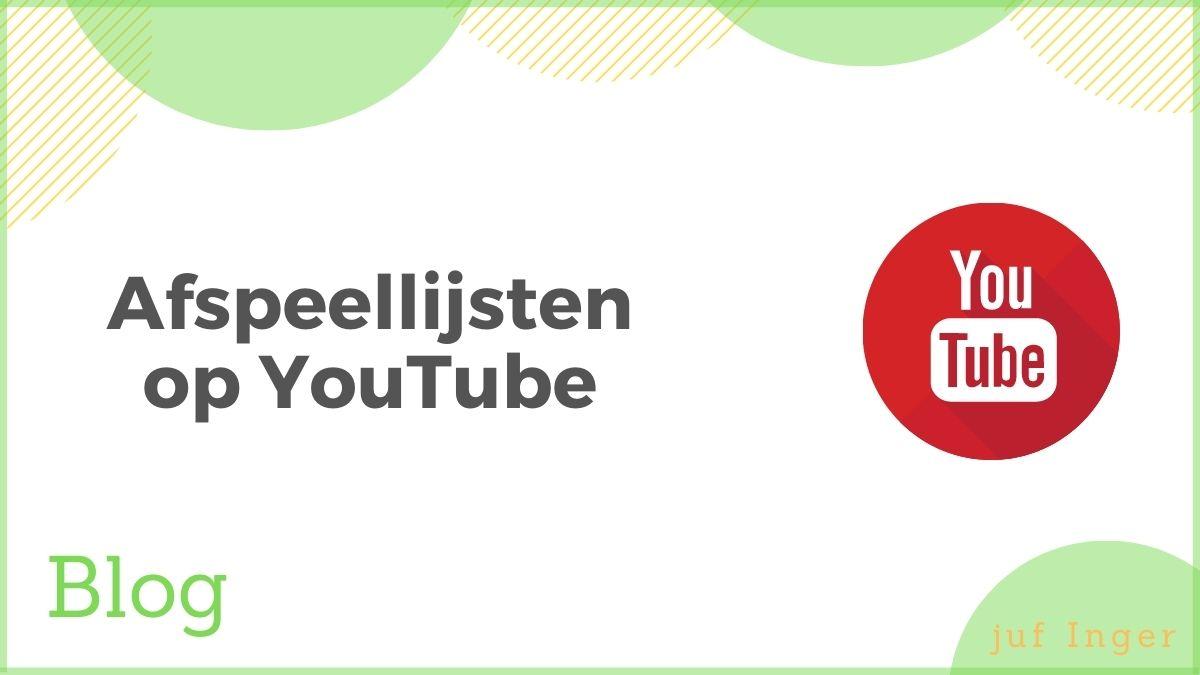 afspeellijsten op YouTube