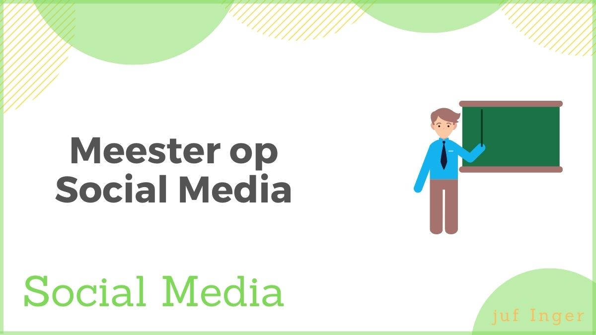 meesters op social media