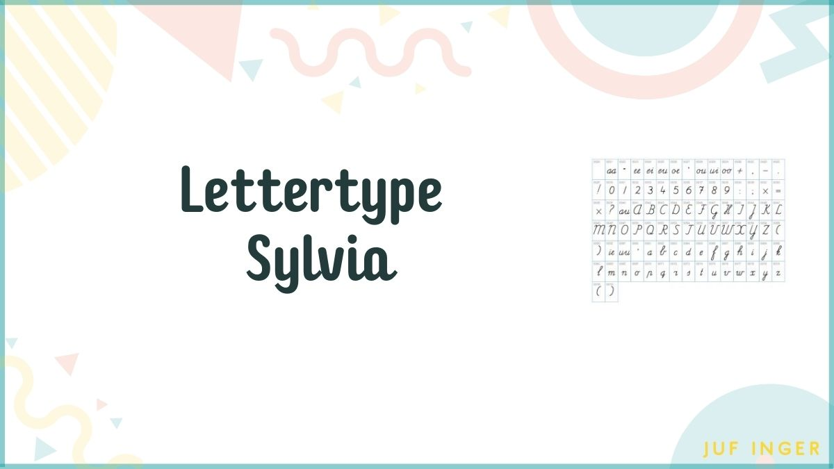Lettertype Sylvia