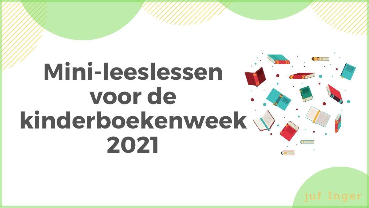 Mini-leeslessen Kinderboekenweek 2021