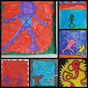 Keith Haring - juf Inger