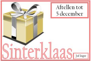 Sinterklaas Archives Juf Inger