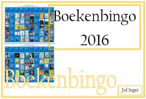 boekenbingo 2016 - juf Inger