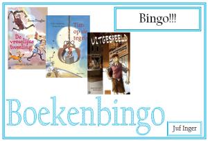 boekenbingo 2016 - bingo!!!