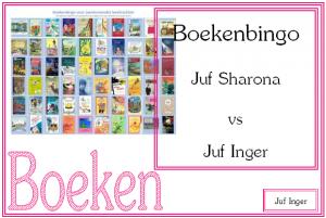 boekenbingo - juf Inger