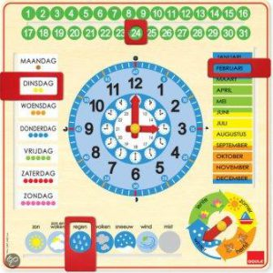 kalenderklok goula