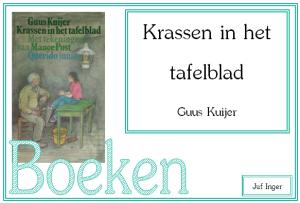 krassen in het tafelblad - juf Inger