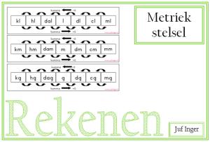 metriek stelsel - juf Inger