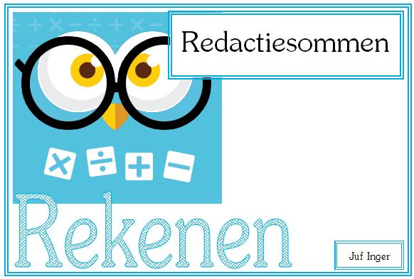 redactiesommen.nl - juf inger