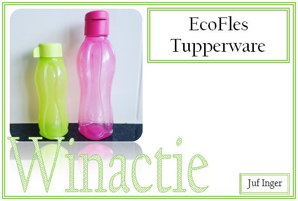 Ongekend Winactie: drinkfles Tupperware - Juf Inger BT-29